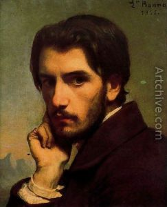 Self-Portrait of Leon Bonnat