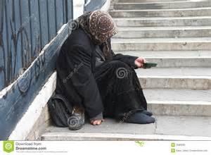 beggar-woman