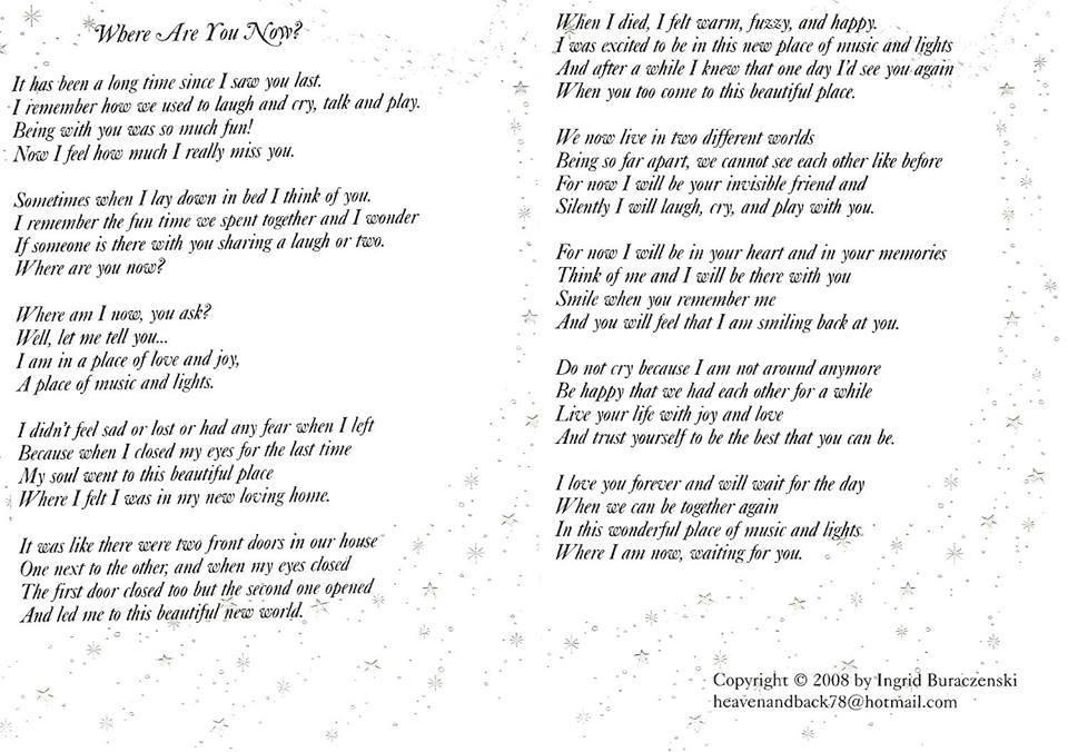 I Really Like You Poems 7